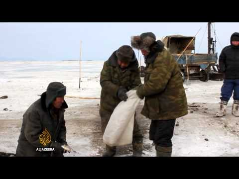 Siberia's tug of war over Lake Baikal's water