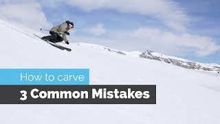 Video HOW TO CARVE ON SKIS   3 COMMON MISTAKES MP3, 3GP, MP4, WEBM, AVI, FLV Februari 2019