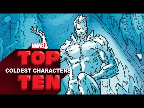 Marvel Top 10 Coldest Characters - Marvel Top 10