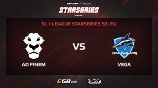 AD Finem vs Vega Squadron, Game 1, SL i-League StarSeries Season 3, EU