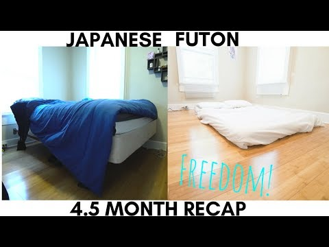Minimalism: Japanese Futon Freedom: 4.5 Month Recap!
