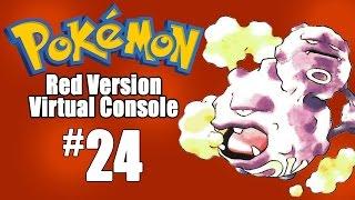 Pokemon Red Virtual Console - Episode 24: POKEMON MANSION by SkulShurtugalTCG