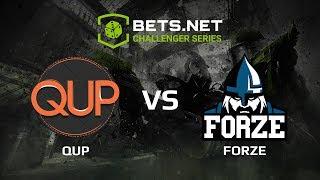 qup vs forZe, Bets.net Challenger Series
