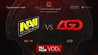 LGD.cn vs Na'Vi, game 2