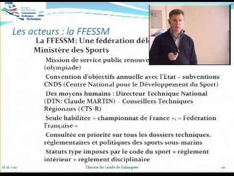 Réglementation FFESSM : les acteurs