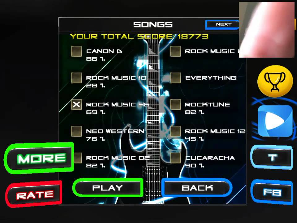 Rock vs Guitar Legends 2015 replay: 20 288 points! #RockvsGuitarLegends2015