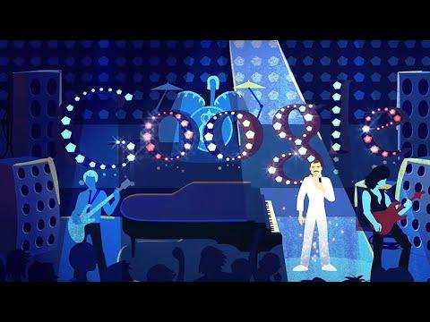 Video | Freddie Mercury Google Doodle
