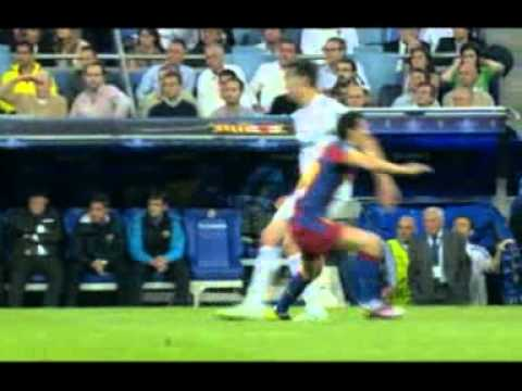 Real Madrid vs. Barcelona 27/4/11 TV images uncover the TRUTH