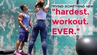 Bodyweight, Cardio-Style Training / It SUCKED LOL (in a good w...