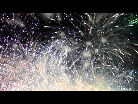 Fogo de artificio corre mal