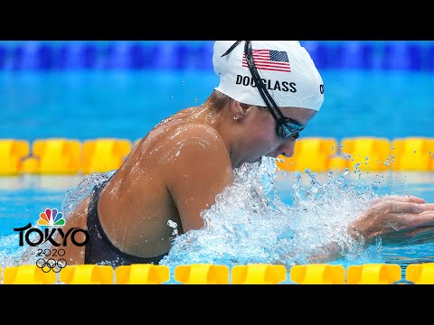 American teen Kate Douglass sets the pace in 200m IM heat | Tokyo Olympics | NBC Sports
