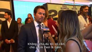 Điệp Vụ 2 Mang - 2 Guns - Phỏng vấn Mark Wahlberg [Khởi chiếu 13/9/2013]