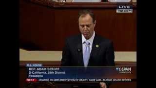 (Armenian) U.S. Rep. Schiff Commemorates Armenian Genocide on U.S. House Floor