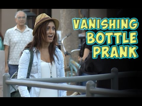 Vanishing Bottle Prank
