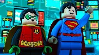 Nonton Lego Justice League Gotham City Breakout   Superman   Robin   Dc Kids Film Subtitle Indonesia Streaming Movie Download