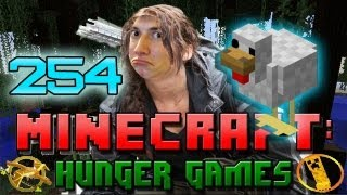 Minecraft: Hunger Games w/Mitch! Game 254 - One Seriously Cranky Chicken!
