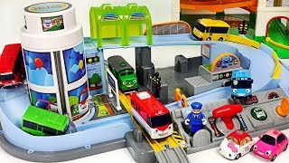Video Titipo, Tayo's Station Playset~! Bus, Train~ Let's all run together! #PinkyPopTOY MP3, 3GP, MP4, WEBM, AVI, FLV Mei 2019