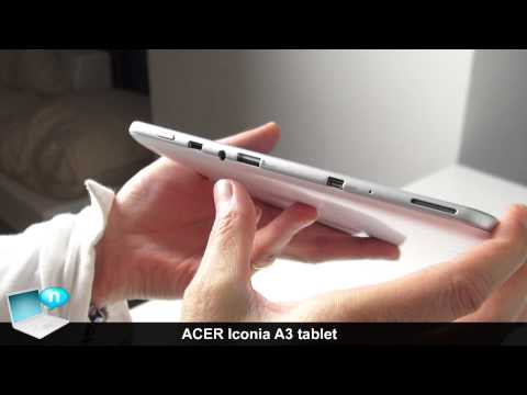 Acer Iconia A3, Android tablet (ENG)