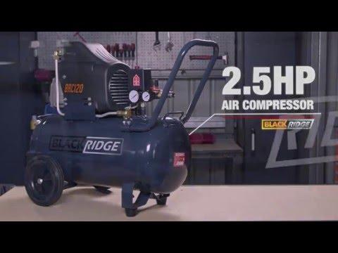 air compressors direct. blackridge air compressor direct drive 2.5hp - 120lpm compressors r