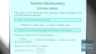 Preparation For General Chemistry 1P. Lecture 25. Review Final Part II.