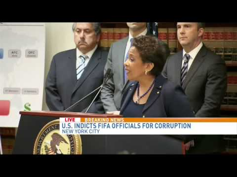 U.S. Attorney General Loretta Lynch press conference on FIFA corruption probe