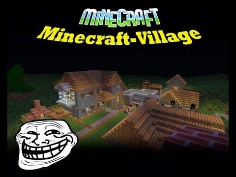 Деревня жителей!!!