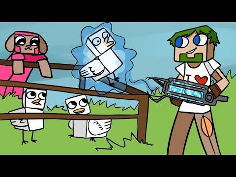 08. СТРАТЕГИЧЕСКАЯ ферма Курочек!! - Lp.Выживший (Minecraft Let's Play)