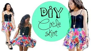 CIRCLE SKIRT 101 - Measurements, Pattern, How to hem a circle skirt - YouTube