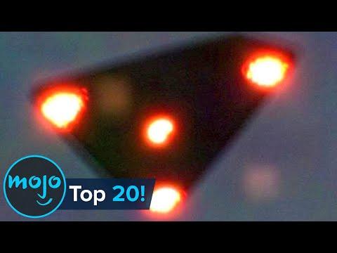 Top 20 UFO's gevangen op de camera