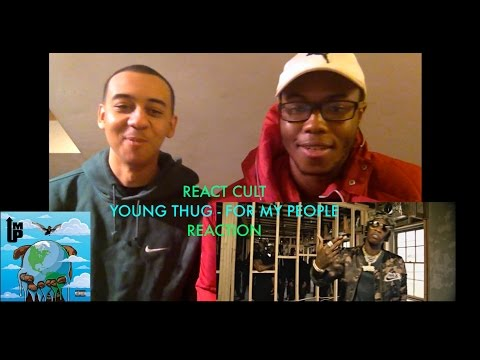 Young Thug - For My People (feat. Duke) REACTION | React Cult