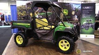 10. 2017 John Deere Gator XUV 855D Utility ATV - Walkaround - 2016 Toronto ATV Show