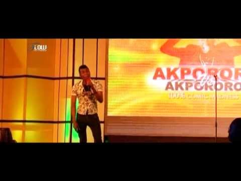 Watch as stand up comedian Emmanuel thrills audience at Akpororo vs Akpororo