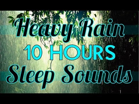 rain - Fall asleep fast to the sound of 10 hours of Rain. Hundreds of rain and weather videos for sleeping, relaxation, yoga, meditation, ASMR, etc on my channel: h...