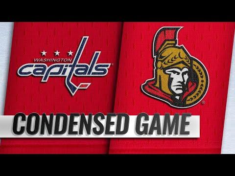 12/29/18 Condensed Game: Capitals @ Senators