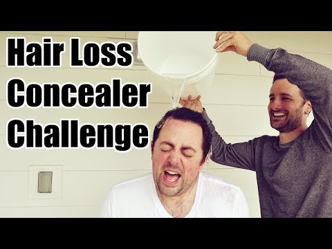 Hair Loss Concealer Challenge - Is Dermmatch Waterproof?