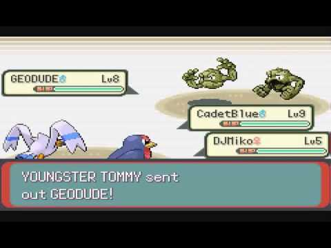 Pokémon Emerald No Evolutions – Pt 06 – Rustboro Gym!  The Rock-Hard Lesson Plan!