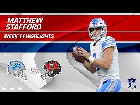 Video: Matthew Stafford's TD Strike & 381 Yards to Defeat Bucs! | Lions vs. Buccaneers | Wk 14 Player HLs