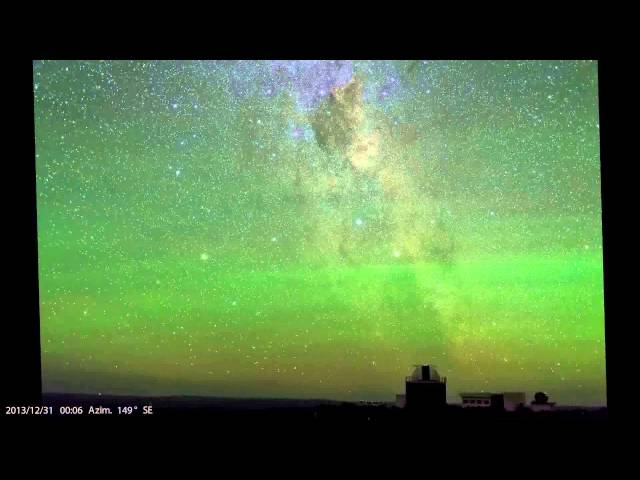 Green Airglow in Sutherland