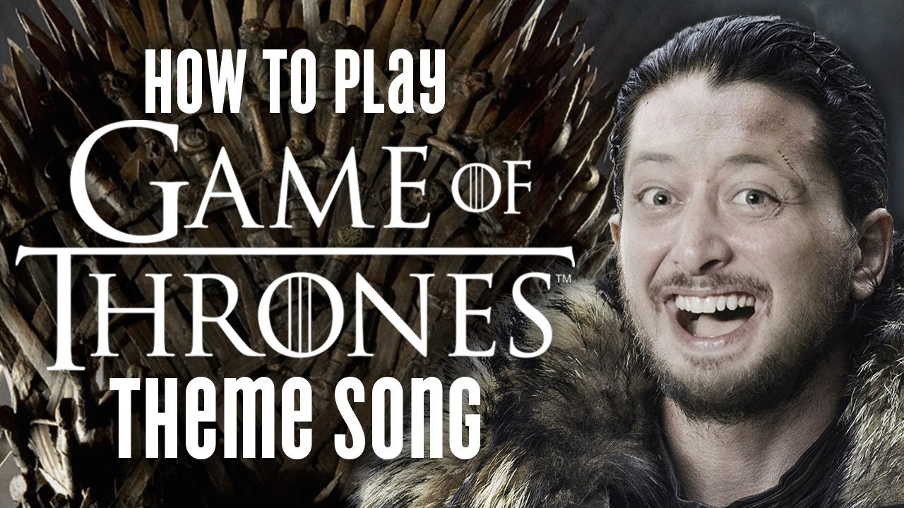 Game of Thrones Theme Song – Guitar Lesson