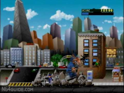 rampage world tour nintendo 64