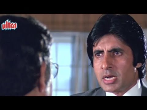 Amitabh Bachchan gets to know real intention of Kader Khan | Inquilaab | Bollywood Scene 10/21