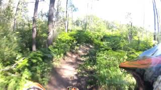 10. Endurocross La doré 2012. KTM XC 250 GoPro Hero2 Enduro 1080 170