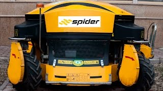 Monstrous epic lawn mower! Spider IDL