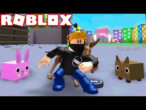 GOING TO A NEW ZONE AND BUYING MORE EGGS in ROBLOX PET SIMULATOR!!!