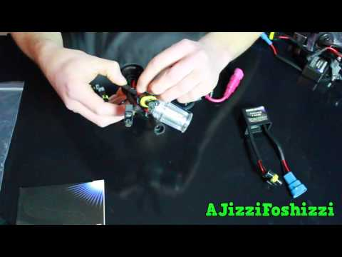 Installing Kensun HID on Mercedes GL350