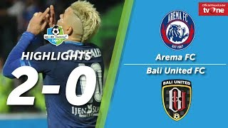 Video Arema FC vs Bali United: 2-0 All Goals & Highlights MP3, 3GP, MP4, WEBM, AVI, FLV Oktober 2017