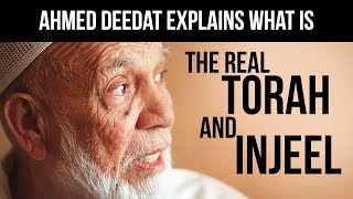 Video Ahmed Deedat explains what is the real Torah and Injeel MP3, 3GP, MP4, WEBM, AVI, FLV Februari 2019