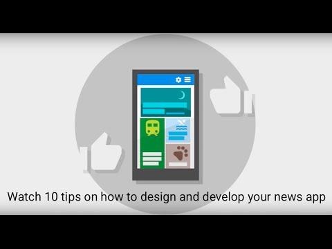 10 tips on how to design and develop your news app