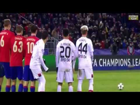 CSKA Moscow vs Bayer Leverkusen 1-1 | 23/11/2016 | Champions League 2016/17
