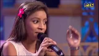 Video SIMRAN RAJ winner of SEASON 2 sings in Studio Round 01   VOP Chhota Champ 3   PTC Punjabi MP3, 3GP, MP4, WEBM, AVI, FLV Oktober 2018